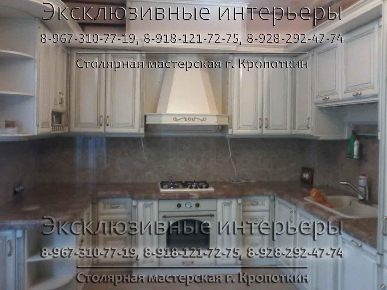 Столярные изделия на заказ в Кропоткине и Кавказском районе Краснодарского края
