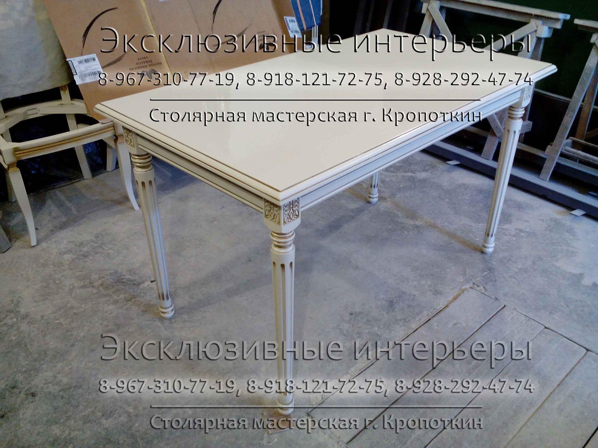Деревянная мебель в классическом современном стиле купить на заказ в Кропоткине