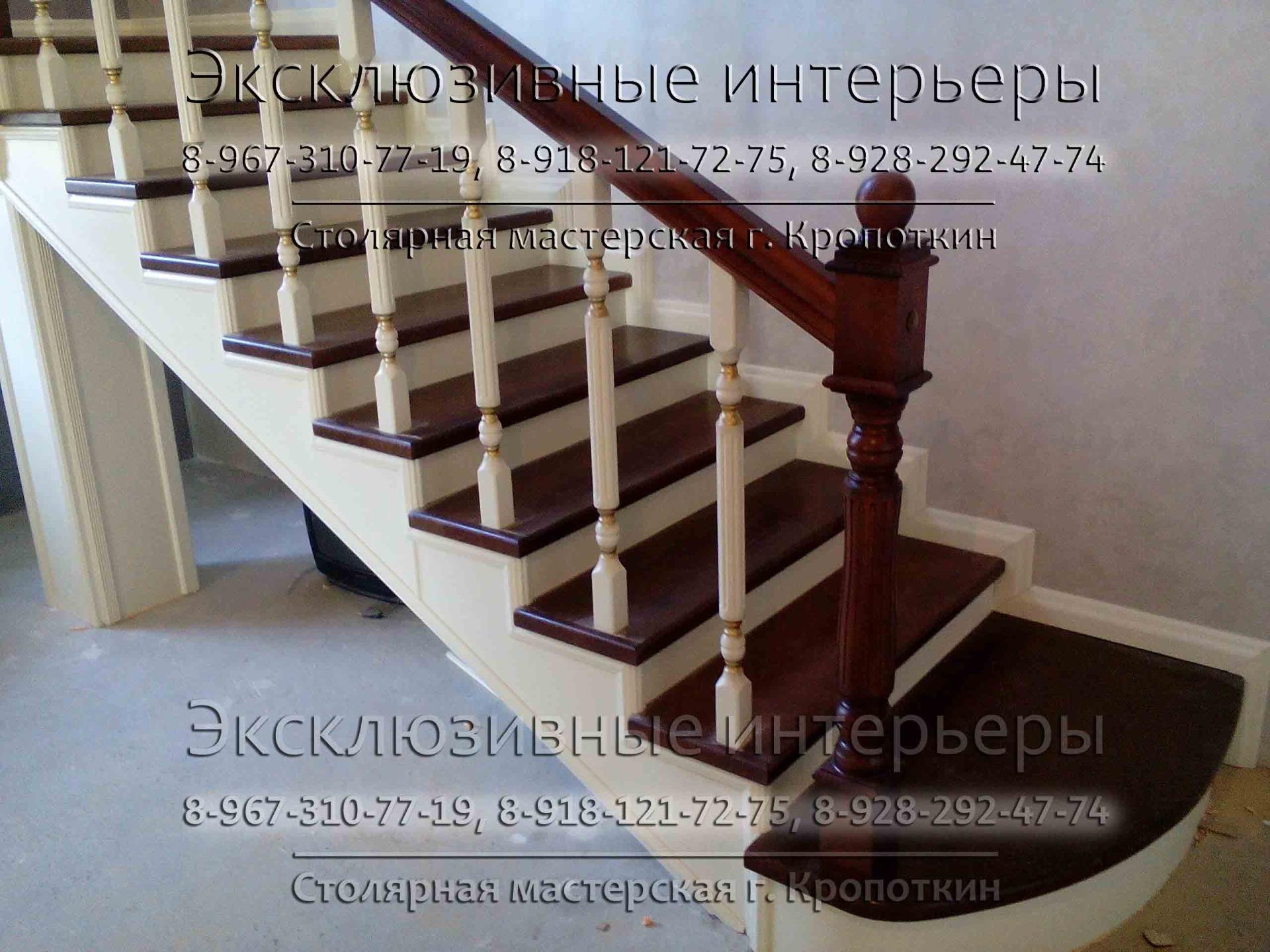 Изготовление деревянных лестниц в Краснодарском крае