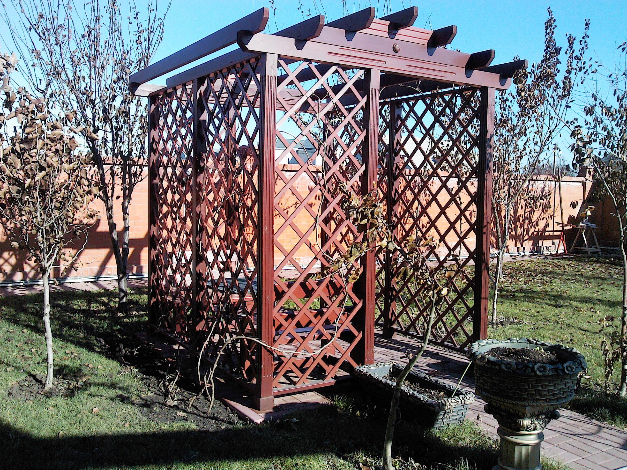 Столярный цех - строительство деревянных беседок в городе Кропоткин
